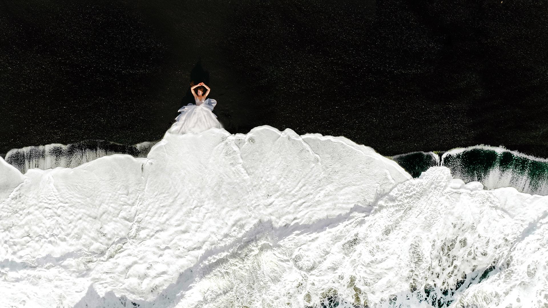 Piękny ślub i wesele w Biała Wstążka Plener na Islandii 11
