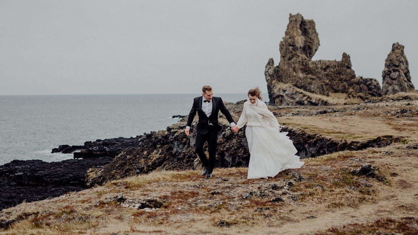Piękny ślub i wesele w Biała Wstążka Plener na Islandii 10