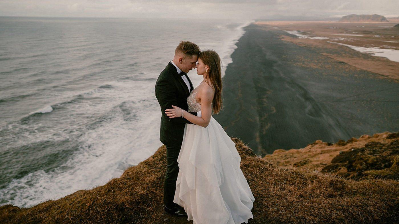 Piękny ślub i wesele w Biała Wstążka Plener na Islandii 8