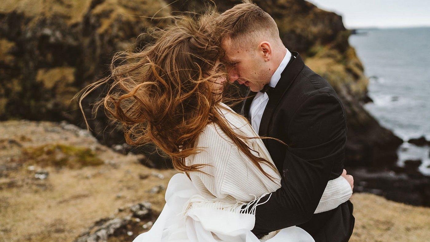 Piękny ślub i wesele w Biała Wstążka Plener na Islandii 6