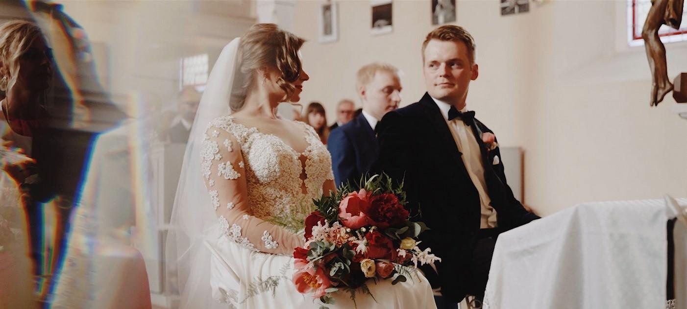 M&T Teledysk ślubny w Pałacu na Wodzie 1