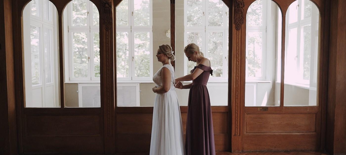 A&B Film ślubny w Hotelu Dębowym 6