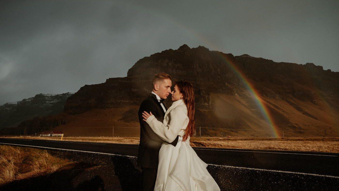 Piękny ślub i wesele w Biała Wstążka Plener na Islandii 5