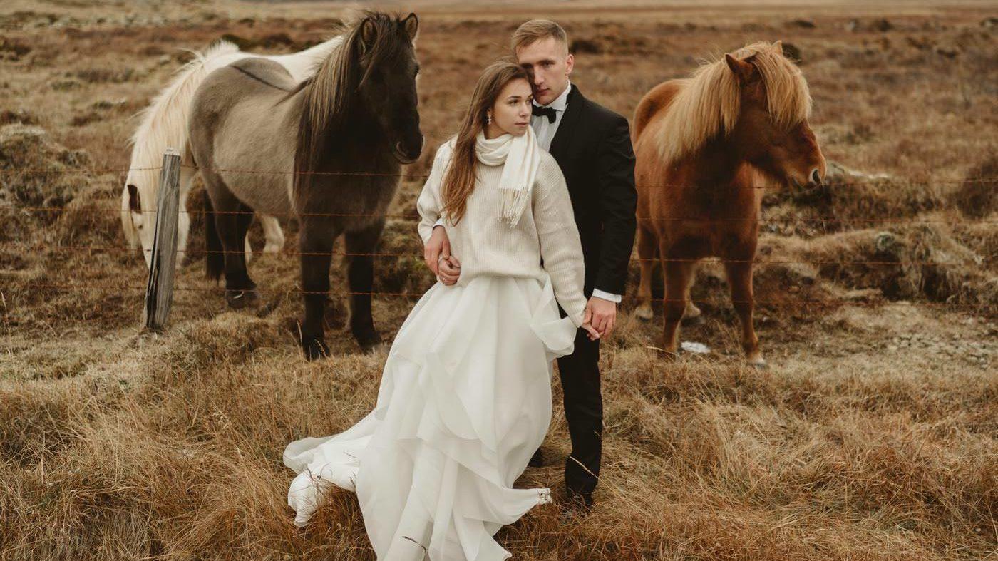 Piękny ślub i wesele w Biała Wstążka Plener na Islandii 1