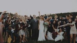 Rustykalne wesele w namiocie na ranczo 67