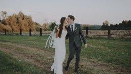 Rustykalne wesele w namiocie na ranczo 5