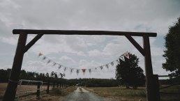 Rustykalne wesele w namiocie na ranczo 1