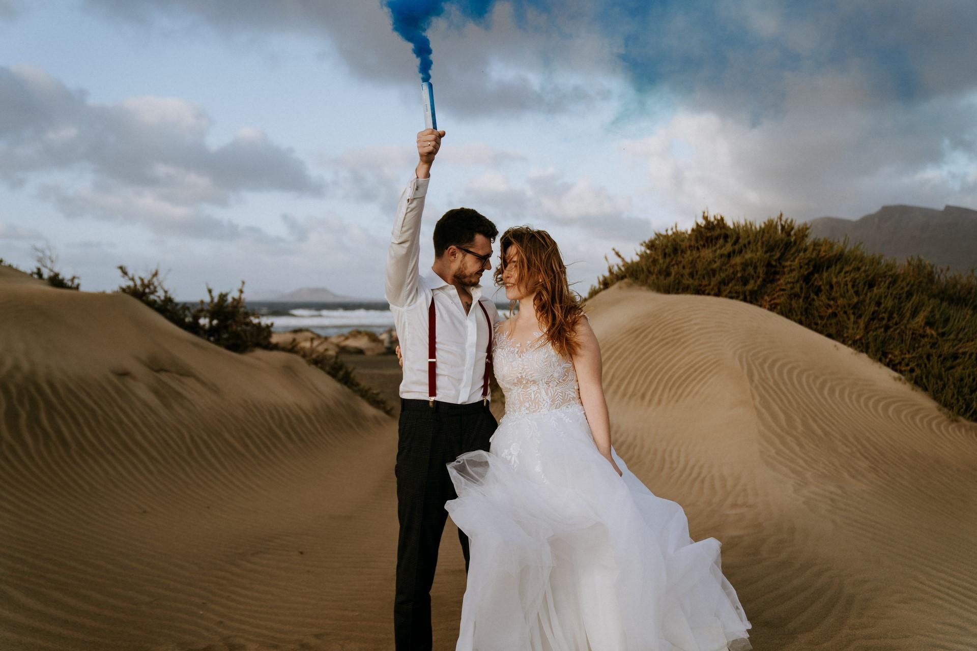 Plener ślubny na Lanzarote 82